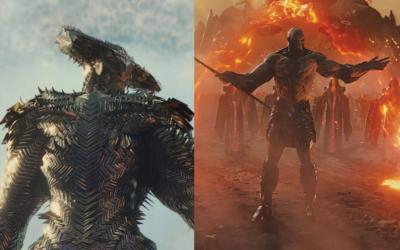 Novas imagens de Darkseid e Lodo da Estepe no SnyderCut